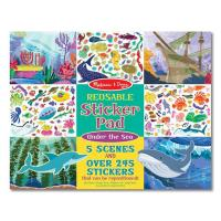 Melissa & Doug Reusable Sticker Pad - Under the Sea