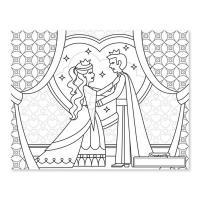 Melissa & Doug Jumbo Colouring Pad - Princess & Fairy