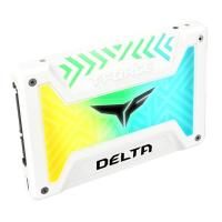 Team T-Force Delta 1TB RGB 2.5in SATA3 SSD - White