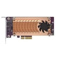 QNAP Dual M.2 2280/22110 PCIe SSD Expansion Card (QM2-2P-344)