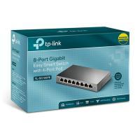 TP-Link 8 Port Gigabit PoE Smart Switch - (TL-SG108PE)