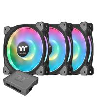 Thermaltake Riing Duo 140mm RGB Radiator Fan - 3 pack