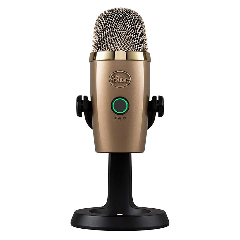 Blue Yeti Nano USB Microphone - Gold