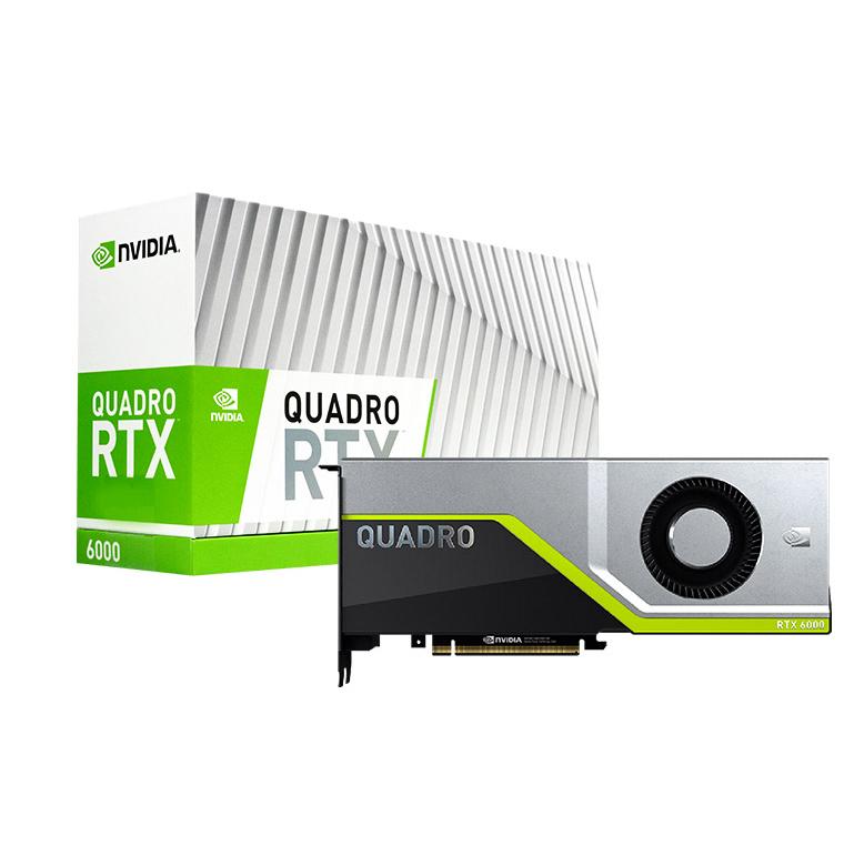 Leadtek Quadro RTX 6000 24GB GDDR6 Workstation Graphics Card