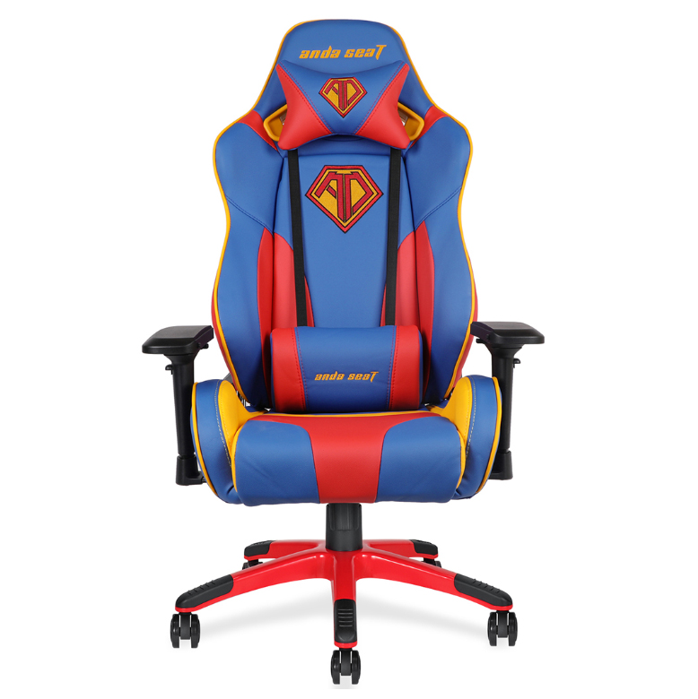 Anda Seat Ad7 09 Special Edition Large Gaming Chair Bluered