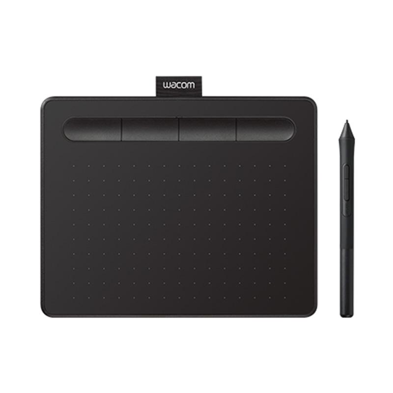 Wacom Intuos CTL-4100/K0-C Small Graphic Tablet - Black