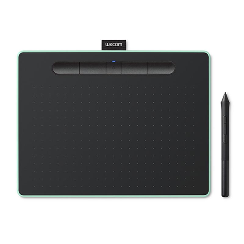 Wacom Intuos CTL-6100WL/E0-C Medium Bluetooth Graphic Tablet - Pistachio