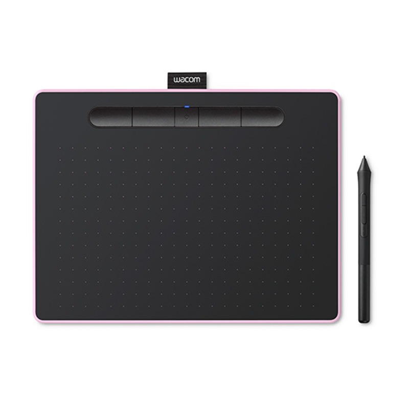 Wacom Intuos CTL-6100WL/P0-C Medium Bluetooth Graphic Tablet - Berry