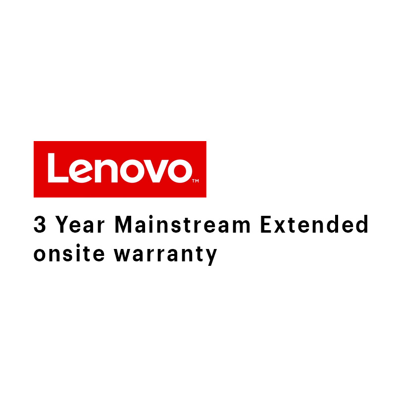 Lenovo 3 Year Mainstream Extended Onsite Digital Warranty (5WS0A14086)