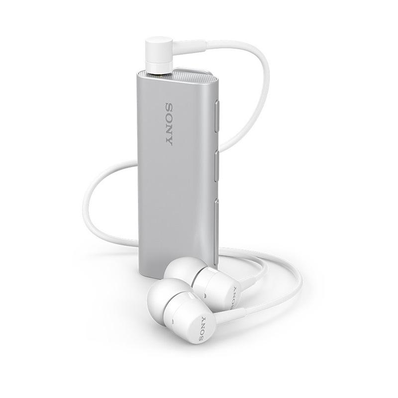 Sony SBH56 Bluetooth Headset w Speaker, Blur Free Selfies