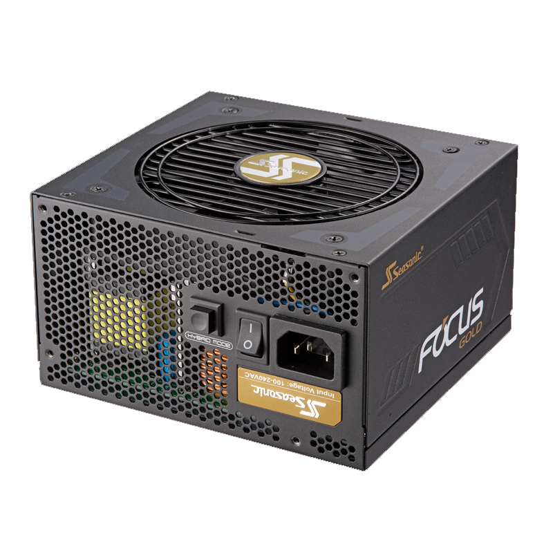 SeaSonic 550W Focus Gold Semi Modular Power Supply (SSR-550FM)