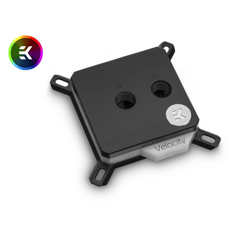 EK Velocity D RGB Intel Nickel and Acetal CPU Waterblock
