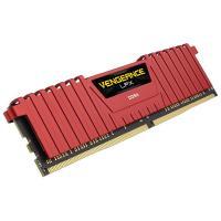 Corsair 8GB (2x4GB) CMK8GX4M2A2400C16R Vengeance LPX 2400MHz DDR4 RAM Red