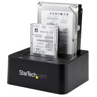 "Startech USB 3.0 Dual Hard Drive Docking Station w UASP for 2.5/3.5in SSD/HDD "" SATA 6 Gbps"