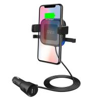 Mbeat Car Phone Mount with Wireless and USB Charging