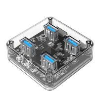 Orico 4 Port Transparent USB3 Hub