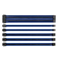 Thermaltake TTMod Sleeved Extension Cable Kit - Blue and Black