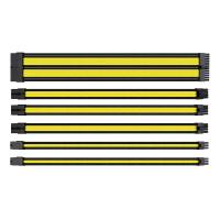 Thermaltake TTMod Sleeved Extension Cable Kit - Yellow and Black