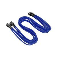 Thermaltake TTMod Sleeved 4+4Pin Extension Cables - Blue