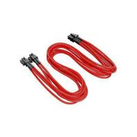 Thermaltake TTMod Sleeved 4+4Pin Extension Cables - Red