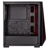 Corsair Carbide SPEC-Delta RGB Tempered Glass Mid Tower ATX Case - Black