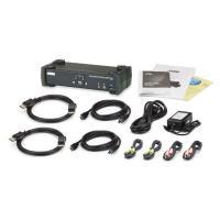 Aten 2 Port USB3.0 KVMP 4K Display Port Switch
