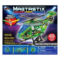 Magtastix Stealth Copter 49pc Set