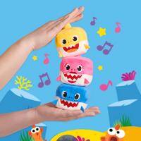 Baby Shark Family Sound Cubes Assorted Plush