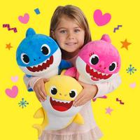 Baby Shark Family Sound Assorted Plush