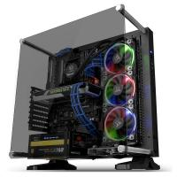 Thermaltake Core P3 Tempered Glass Edition Mid Tower ATX Case - Black