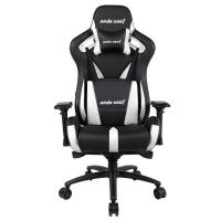 Anda Seat AD12XL-03 Extra Large Gaming Chair - Black/White