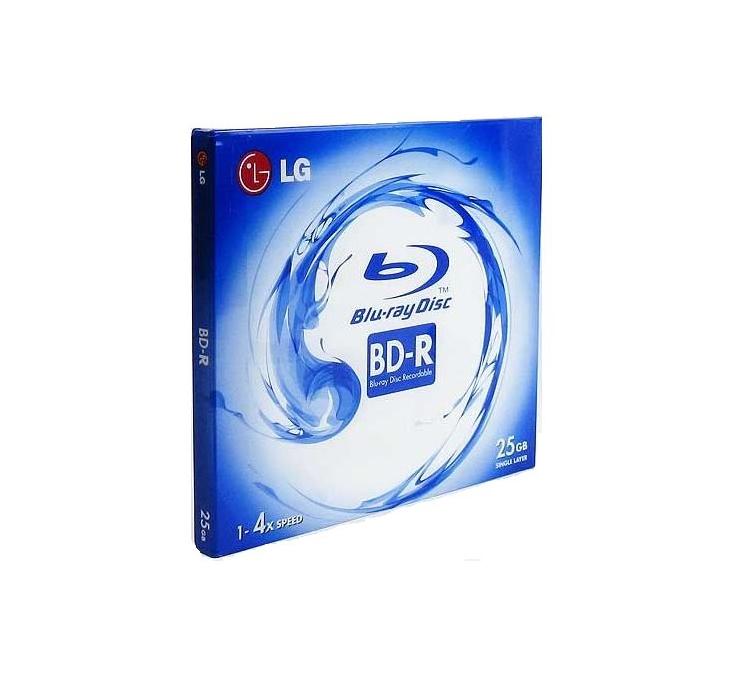 LG Blue-Ray 25G 1pk Disc