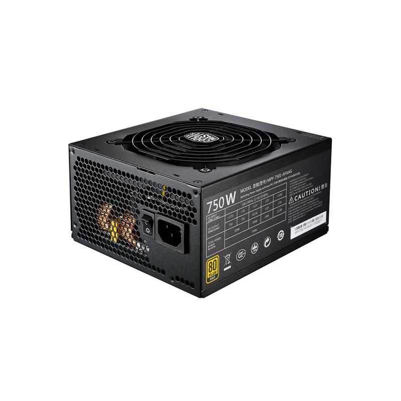 Cooler Master MWE Gold 750W 80 Plus Gold Modular Power Supply