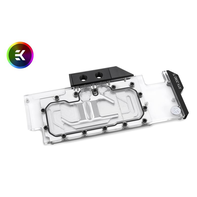 EK Vector RTX 2080 Ti RGB - Nickel + Plexi GPU Waterblock