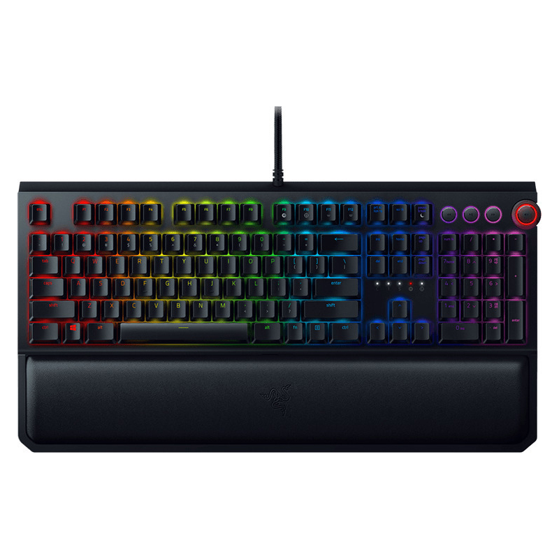 Razer BlackWidow Elite Chroma Mechanical Gaming Keyboard - Green Switch