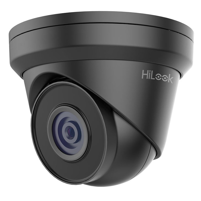 Hikvision HiLook IPC-T240H-B 4MP IR Network Turret Surveillance Camera Black