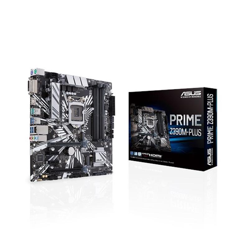Asus Prime Z390M Plus mATX LGA1151 Motherboard