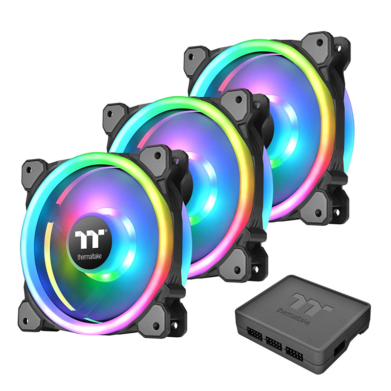Thermaltake Riing Trio 140mm RGB Fan TT Premium Edition (3 Fan Pack)