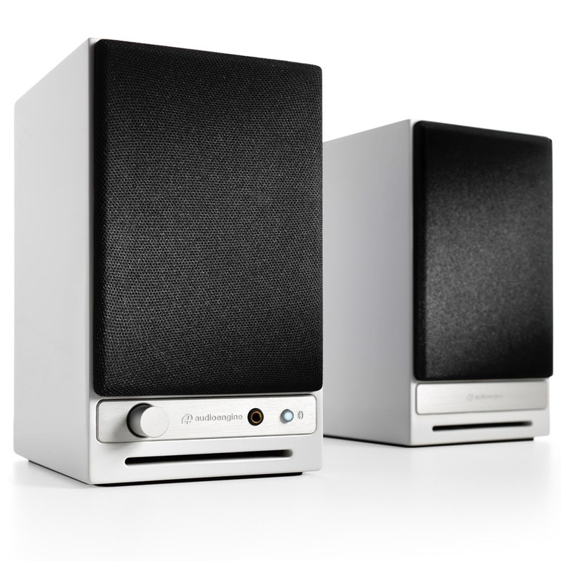 Audioengine HD3 Powered Desktop Speakers Pair Gloss White