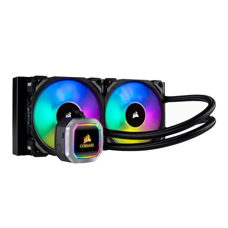 Corsair H100i Platinum RGB Liquid CPU Cooler
