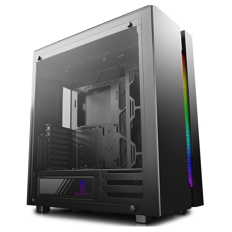 DeepCool New Ark 90SE RGB Tempered Glass Mid Tower EATX Case - Black