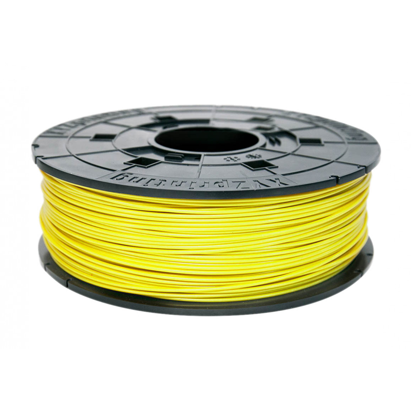 XYZ ABS Refill PLA Filament for Pro Series 600g - Neon Yellow