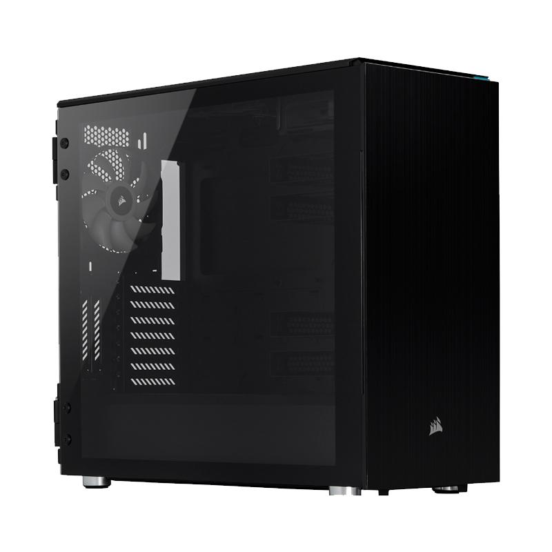 Corsair Carbide 678C Tempered Glass Mid Tower EATX Case - Black