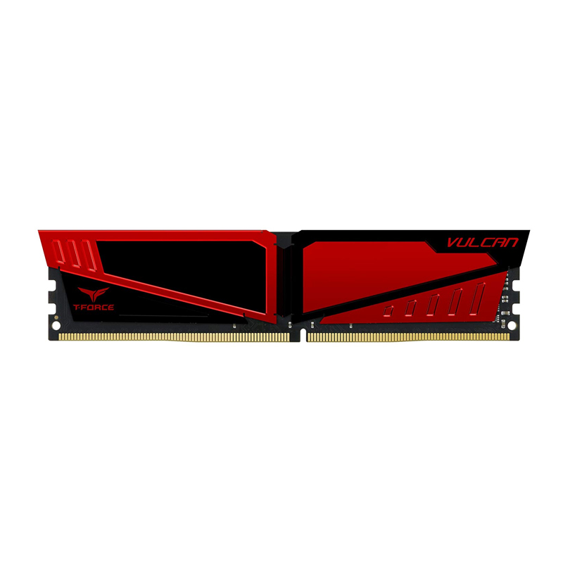 Team T-Force Vulcan Series Dual Channel DDR4 8G 2666MHz Red