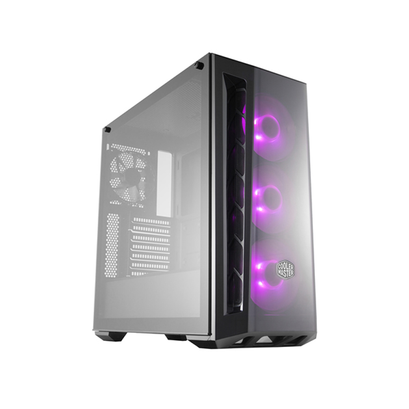 Cooler Master MasterBox MB520 RGB Tempered Glass Mid Tower ATX Case