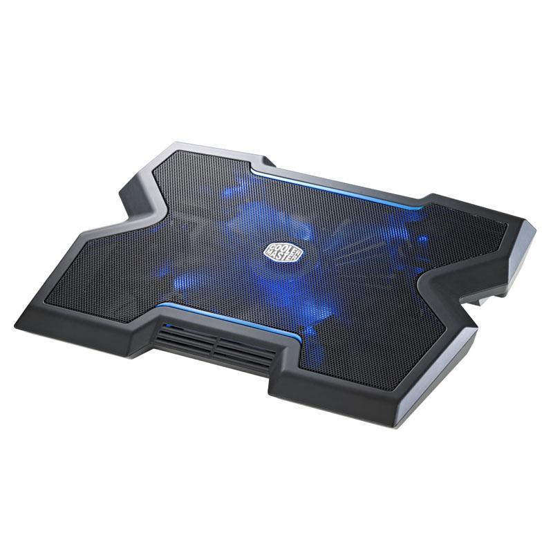 Cooler Master NotePal X3 200mm Blue LED Fan 17in Laptop Cooler