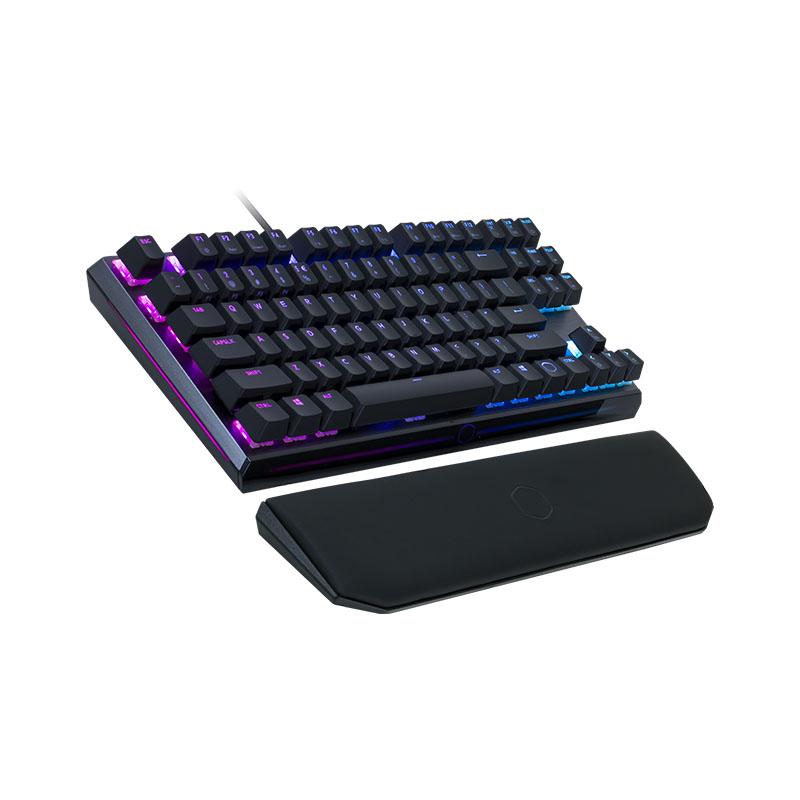 Cooler Master MasterKeys MK730 RGB TKL Mechanical Keyboard - Cherry Red