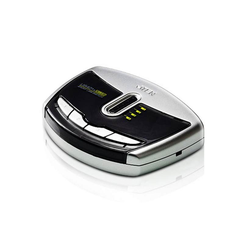 Aten 4 Port USB 2.0 Peripheral Sharing Device (US-421A)