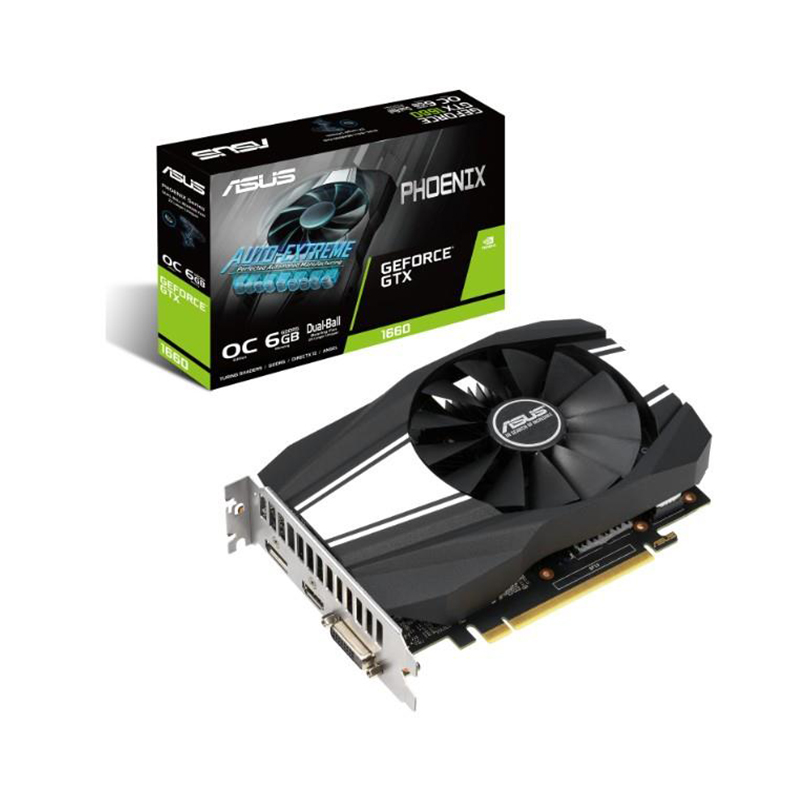 Asus GeForce GTX 1660 Phoenix 6G OC Graphics Card
