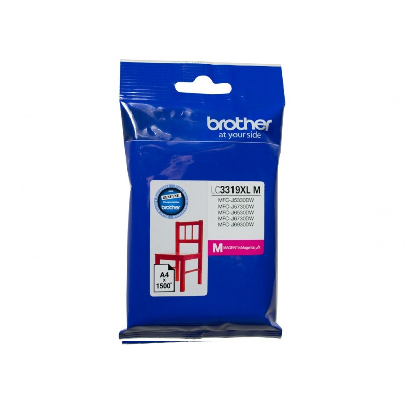 Brother LC-3319XLM XL Magenta Ink Cartridge (1500 page yield)